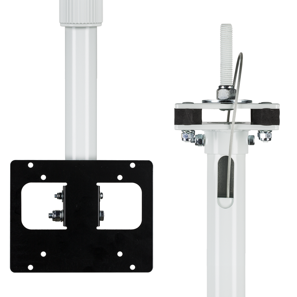 Lcd Ceiling Mount: 12' Telescoping Ceiling Mount LCD/PVM Pole